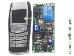 REMOTE CONTROL VIA MOBILE PHONE