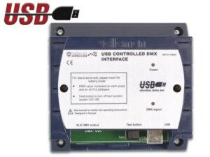 USB CONTROLLED DMX INTERFACE