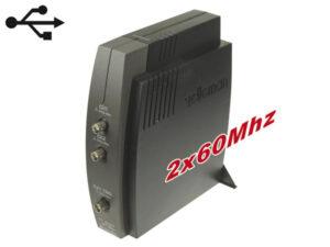 2-CHANNEL USB PC OSCILLOSCOPE