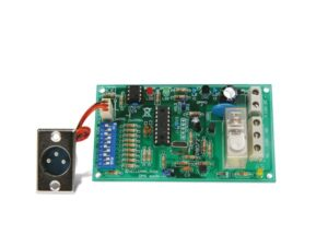 DMX-CONTROLLED RELAY SWITCH