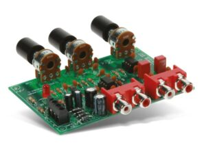 VOLUME AND TONE CONTROL - PREAMPLIFIER