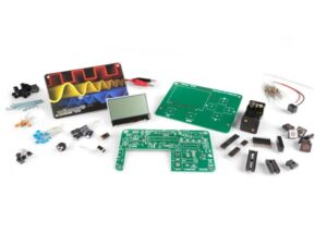 Educational LCD oscilloscope