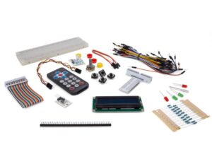 ELECTRONIC PARTS PACK FOR RASPBERRY PI®