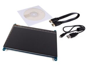 "7"" 800 x 480 HDMI-B TOUCHSCREEN FOR RASPBERRY PI®"