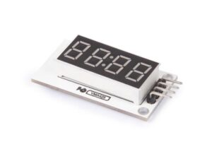 4-DIGIT DISPLAY WITH DRIVER MODULE (TM1637 DRIVER)