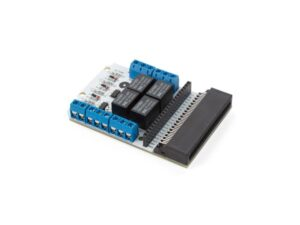 4 CHANNEL RELAY MODULE FOR MICROBIT®