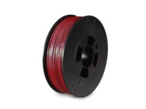 "1.75 mm (1/16"") PLA FILAMENT - METALLIC COPPER RED - GLITTER - 750 g"