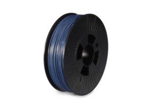 """1.75 mm (1/16"""") PLA FILAMENT - METALLIC BLUE - GLITTER - 750 g"""
