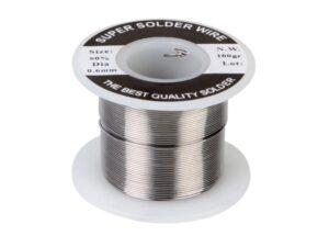 SOLDER Sn 60% Pb 40% - 0.6 mm 100 g