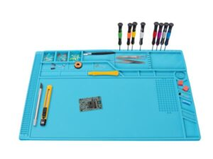 SILICONE SOLDERING MAT - 550 x 350 mm