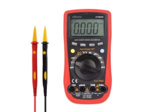 DIGITAL MULTIMETER - CAT III 600V / CAT IV 300V - 15A - 6000 COUNTS - TRUE RMS