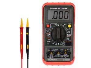 DIGITAL MULTIMETER - 24 RANGES / CAT II 700 V - CAT III 600 V / HOLD / AUTO POWER OFF / TEMP / 15 A AC & DC