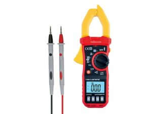 DIGITAL CLAMP METER - CAT III - 600 V - AC - NCV - with data-hold function
