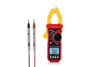 DIGITAL CLAMP METER - CAT III - 600 V - AC/DC - NCV - with data-hold function