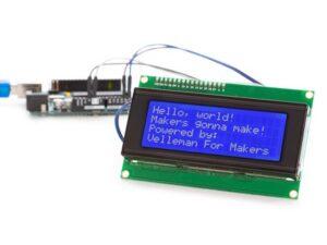 I²C 20x4 BLUE LCD MODULE