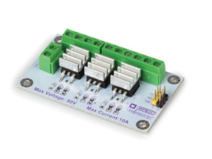 3-CHANNEL HIGH POWER MOSFET (IRF540NS) MODULE