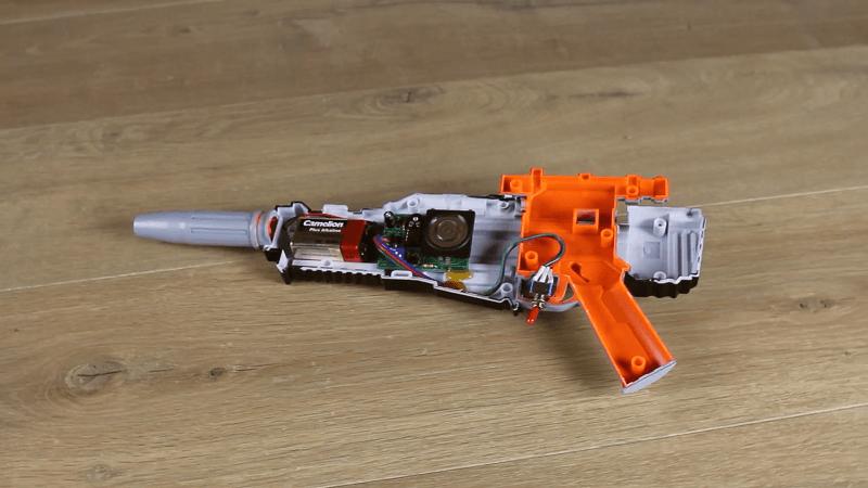 Star wars blaster upgrade